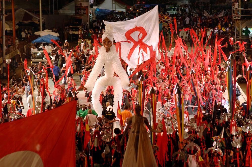 Peaceful Demonstration – 'Peace Pilgrim' puppets entertain crowds