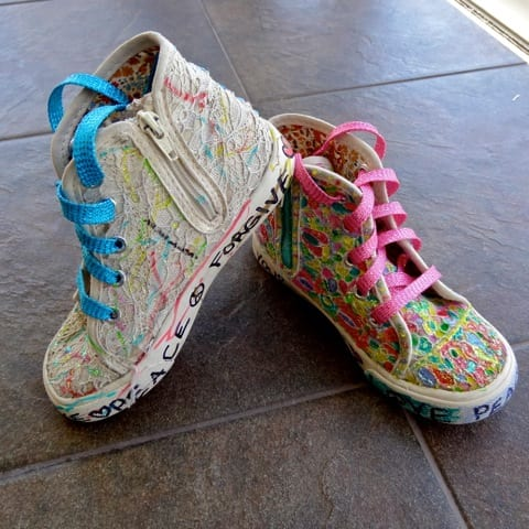 Clare Arena Haden & Ben – Mother & Son Make Soul Shoes